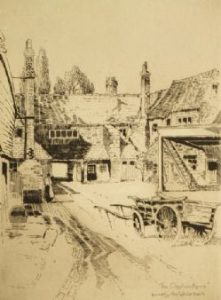 Godwin Bennett;  'Godstone, Clayton Arms formerly The White Hart' 1900's